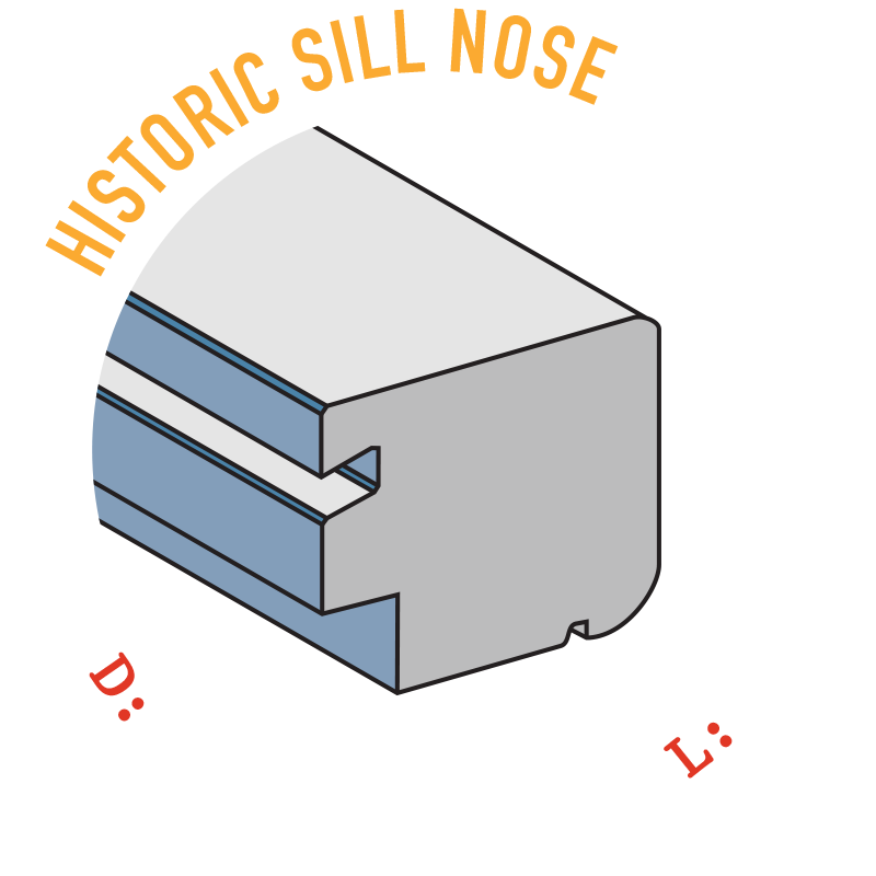 Historic Sill Nose