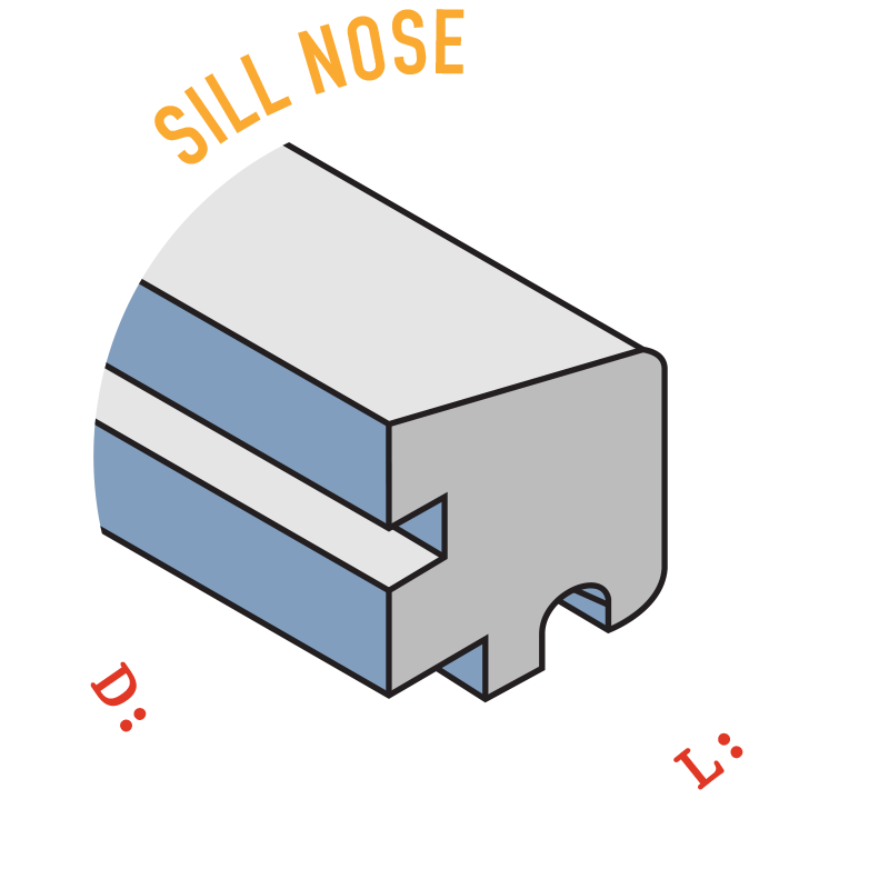 Sill Nose